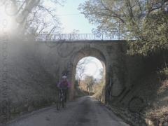 picture taken along the EuroVelo 8 near Lorgues